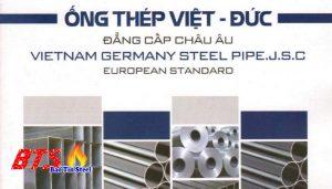 ống thép mạ kẽm Việt Đức