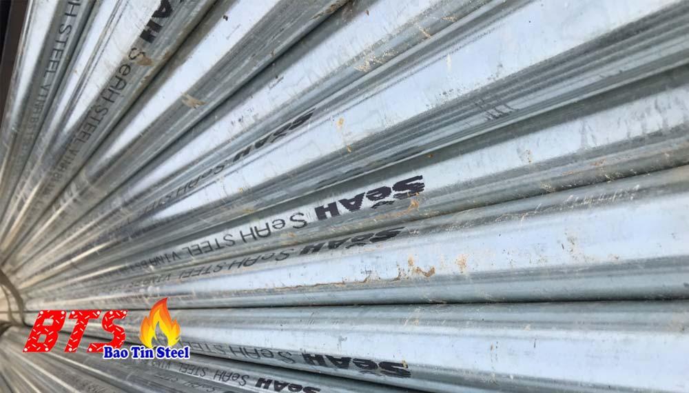 ống thép trang kẽm seah tiêu chuẩn bs21